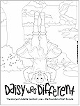 Gs Coloring Pages Printables On Pinterest Daisy Girl