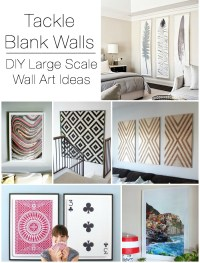 Decorating Large Walls - Large Scale Wall Art Ideas