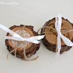 Handmade Gift Series: DIY Rustic Coasters
