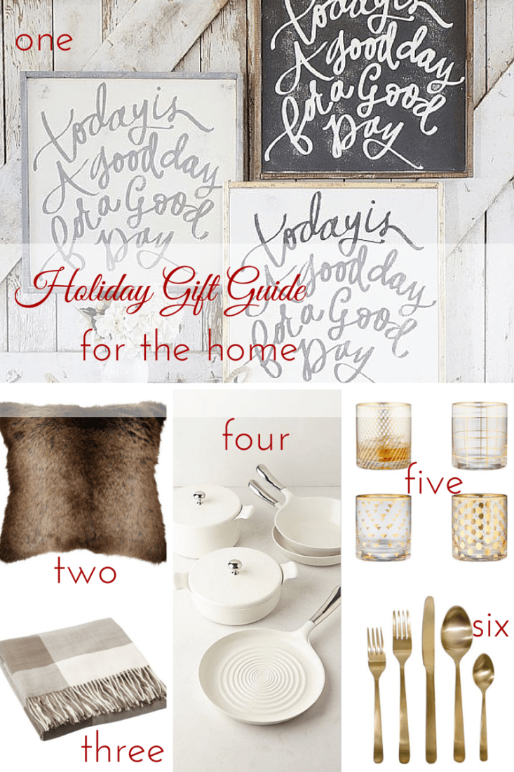 Holiday Gift Guide for the Home - making it in the mountains