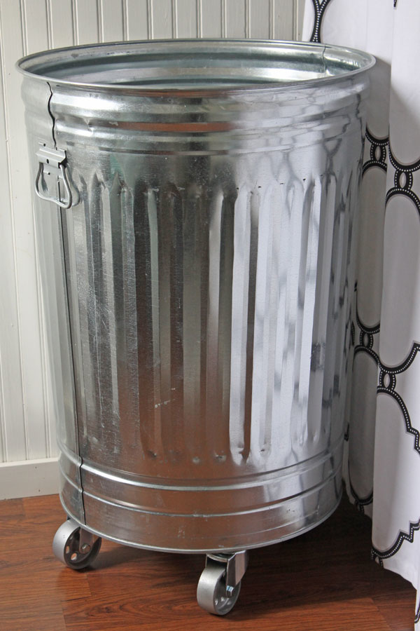DIY Industrial Laundry Hamper