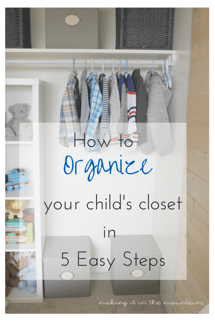 15 ways to organize your entire life for 2016 dwell for Childrens closet