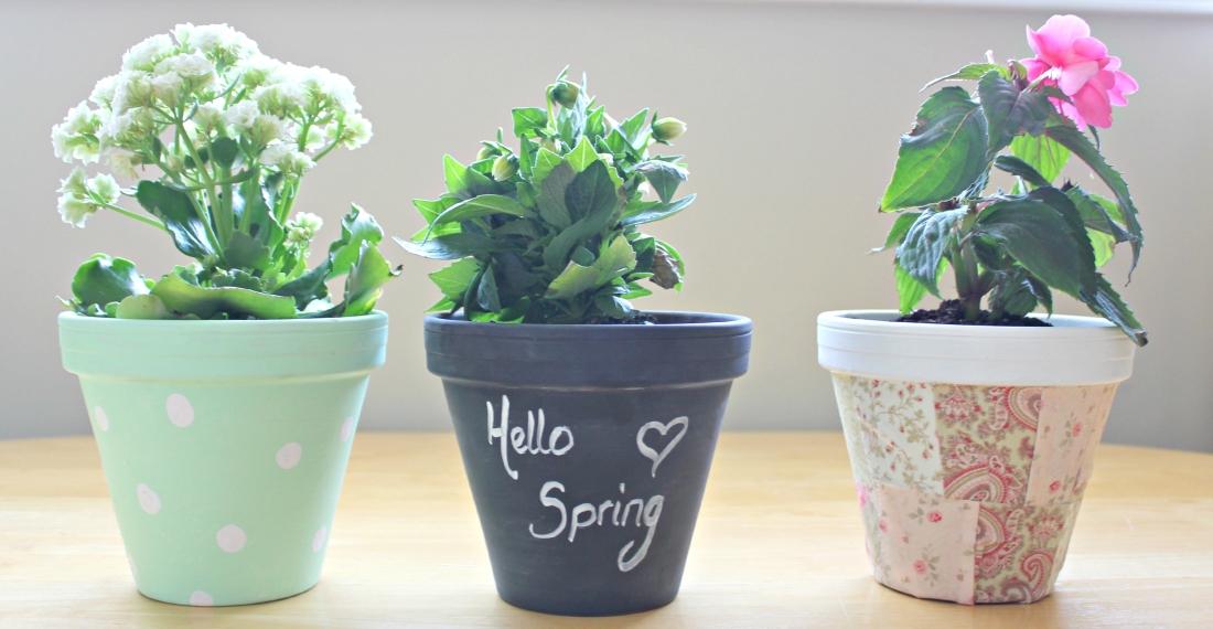 Diy flower pots 2