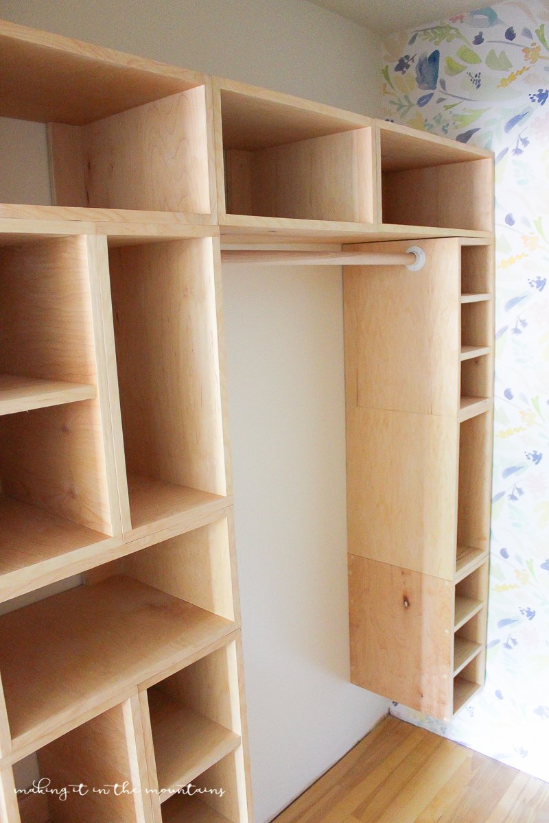 Diy custom closet organizer the brilliant box system for How to design closet storage