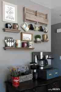 How to Create a DIY Coffee Station at Home - Making Manzanita