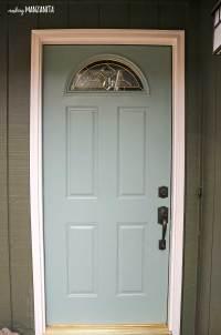 Choosing Front Door Paint Colors (& How To Paint A Door ...