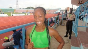 Nichole Denby, 2014 Nigerian 100m Hurdles Champion, recently switched allegiances from USA.