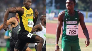 Oduduru will be racing against Bolt for the second time in two days.