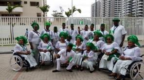 Team Nigeria Paralympians