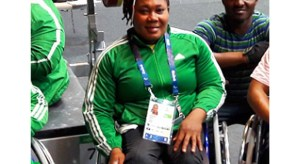 Ndidi Nwosu surprisingly pipped the defending champion to win GOLD in the women's -73kg Powerlifting. Photo Credit: @IPCPowerlifting