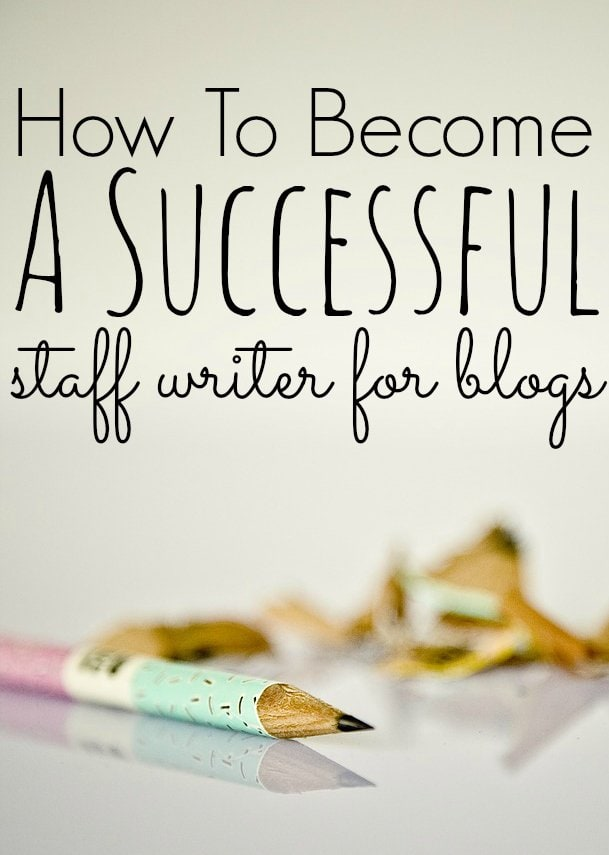 How To Become A Successful Staff Writer for Blogs - Making Sense - web editor job description