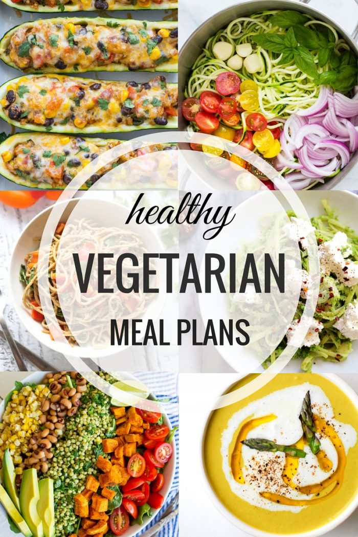 Healthy Vegetarian Meal Plans Week Two - Making Thyme for Health - weekly healthy meal plan