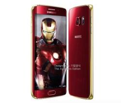 Samsung confirma la edición Iron Man para los Galaxy S6 y S6 Edge
