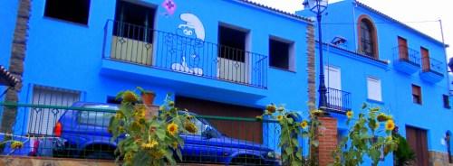 Juzcar village Malaga