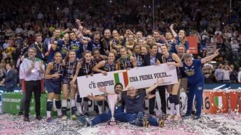 L'Imoco Volley di Mazzanti Campione d'Italia