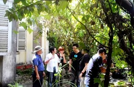 Behind the scene - During the filming of the Haunted House episode at Tanjung Jaga, Kedah.