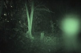 Mysterious Chinese Cemetery Spirit