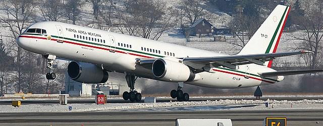 avion presidencial mexico