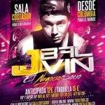 Evento: J Balvin @ Discoteca Costa Sur (Barcelona, España) (04 De Mayo)