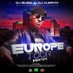Dj Blass y Dj Cuervo Pstan: Europe Tour Mixtape (Cover y Tracklist)