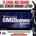 Nicky Jam es el reggaetonero con mas suscriptores en Youtube