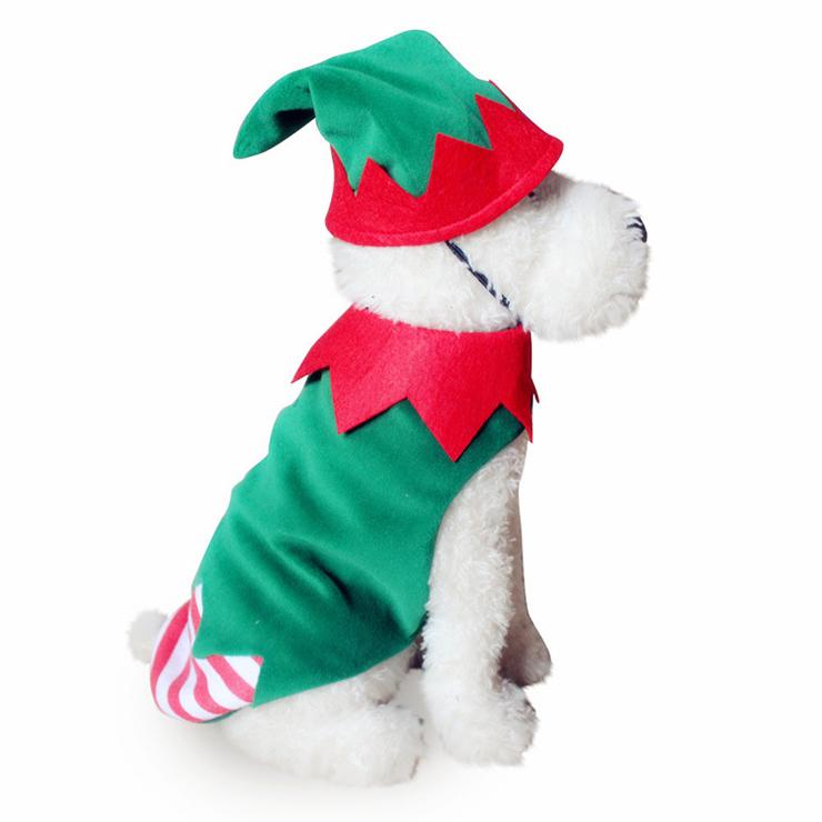 Christmas Elf Pet Costume XT12355