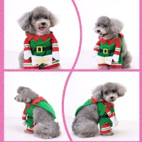 Christmas Elf Dog Costume XT12357