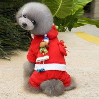 Santa Dog Outfit & Christmas Costumes XT12354