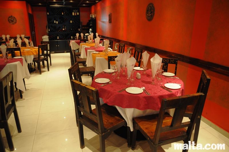 emperor of india indian restaurant in paceville malta
