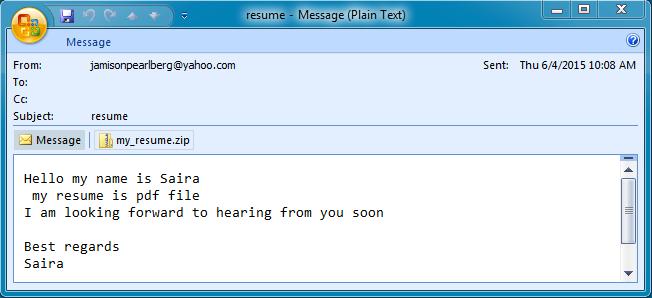 How To Write Email For Sending Resume For Job Cv Resumes Maker Guide