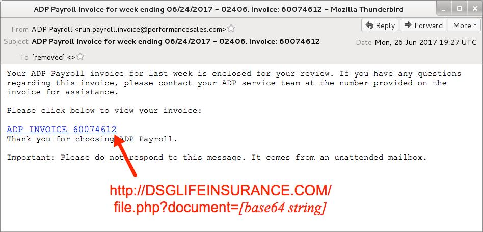 Malware-Traffic-Analysisnet - 2017-06-26 - Hancitor malspam (fake