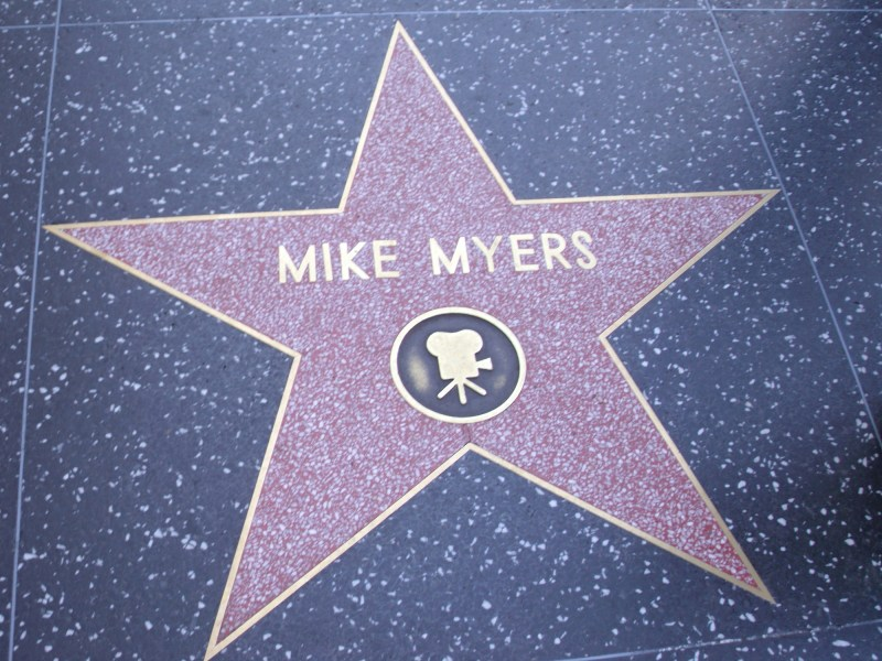 Canadian Stars Hollywood walk of fame
