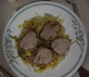 Crock Pot Sweet and Zesty Pork Tenderloin