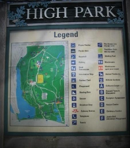 High Park sign