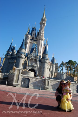 Magic Kingdom castle belle