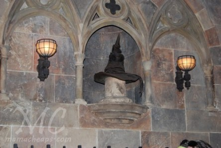 wizarding world of harry potter universal orlando sorting hat