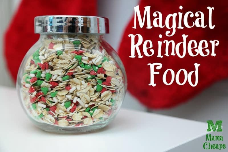 Magical Reindeer Food Recipe + Free Printable Poem Tag Mama Cheaps