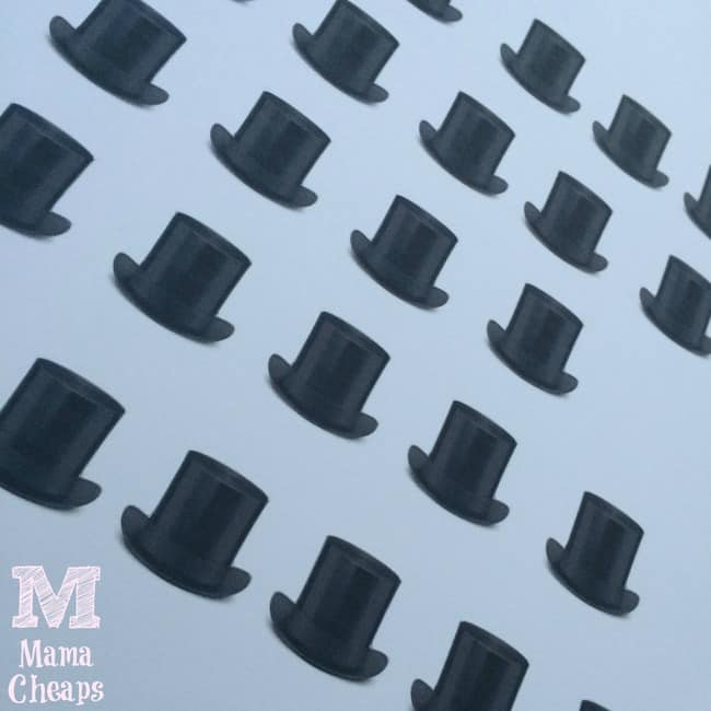 4 Best Images Of Printable Top Hat Pattern Mad Hatter Snowmanbest