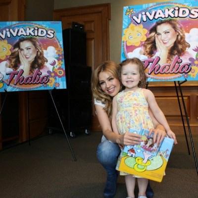Thalia y Viva Kids. SORTEO