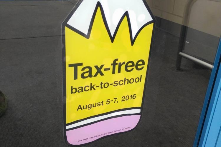 Fin de Semana Libre de Pago de Impuestos- Tax-Free Weekend 2016