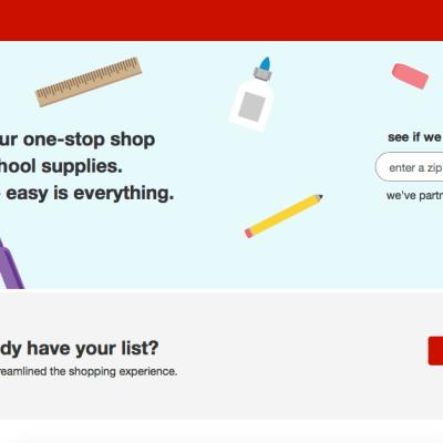 Asistente Virtual de Target Para Comprar los Útiles Escolares
