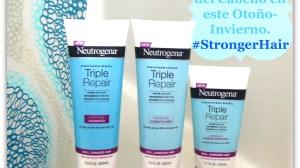 Ganadora del Sorteo de 3 Productos de la Colección Neutrogena® Triple Repair #StrongerHair