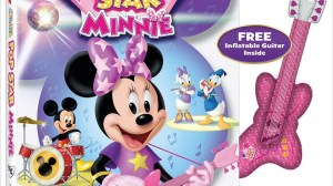 Pronto en DVD Mickey Mouse Clubhouse: Pop Star Minnie. Sorteo.
