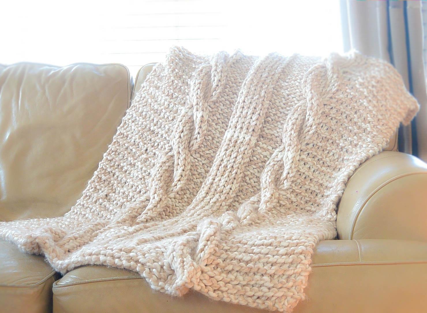 Fullsize Of Cable Knit Blanket