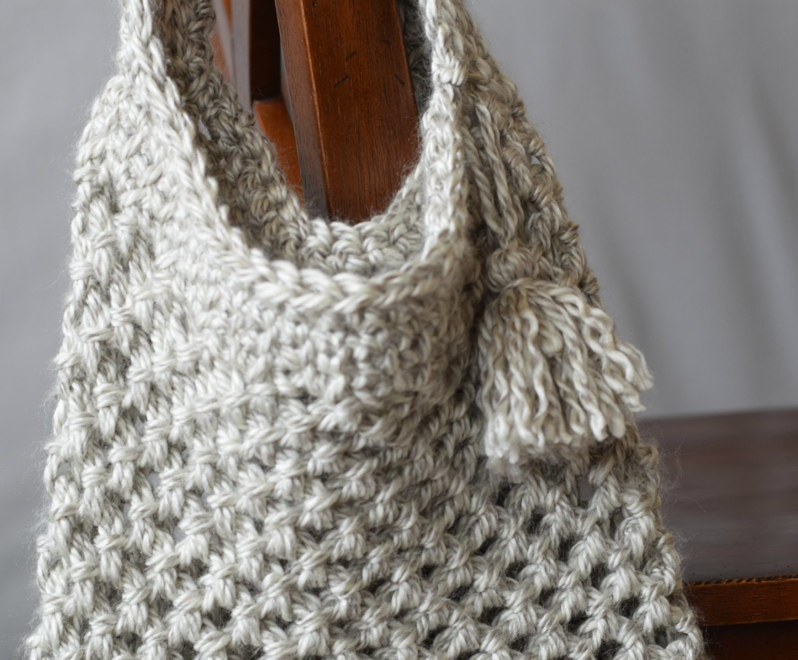Crochet Up Close Market Tote Pattern