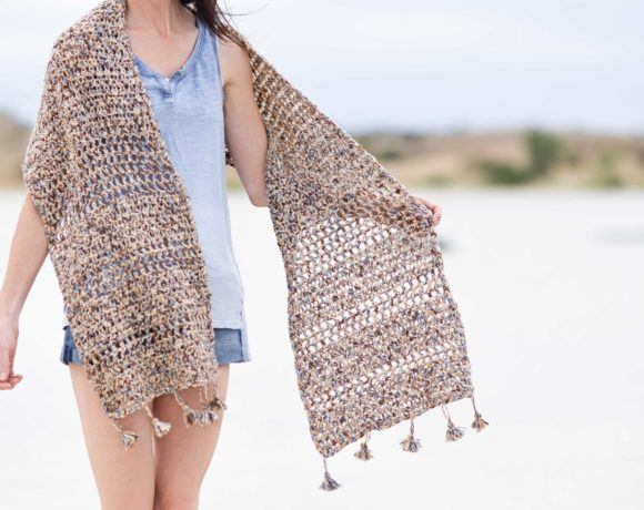 Cuffed Shawl Crochet Pattern Erieairfair