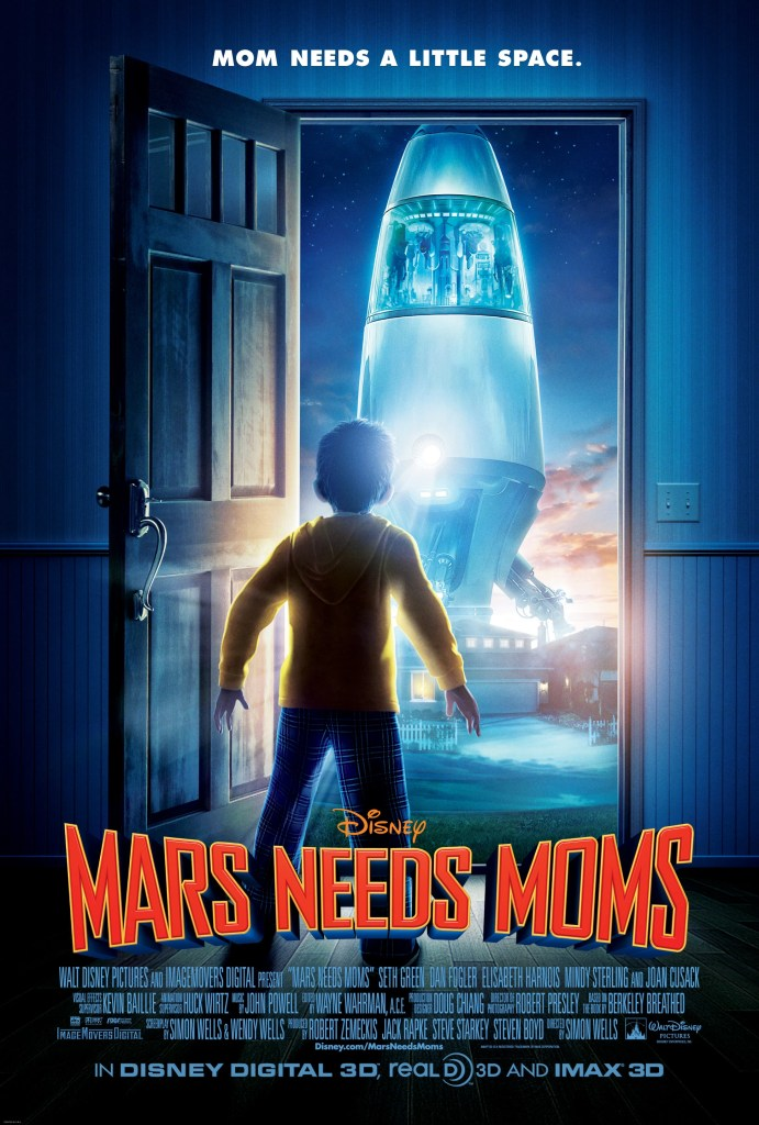 Películas de Disney (sorteo) – Mars Needs Moms – Disney Movies (giveaway)