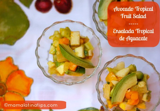 Avocado Tropical Fruit Salad
