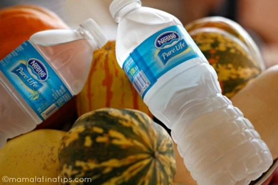agua-calabazas