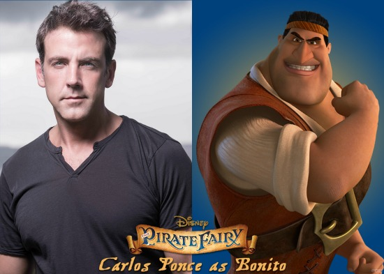 Carlos Ponce as Bonito y in the Pirate Fairy - mamalatinatips.com